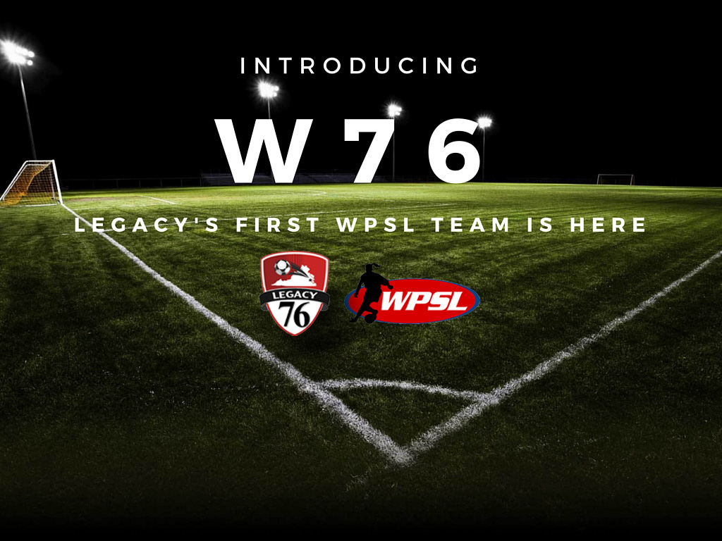 Legacy Announces WPSL Franchise for 2017