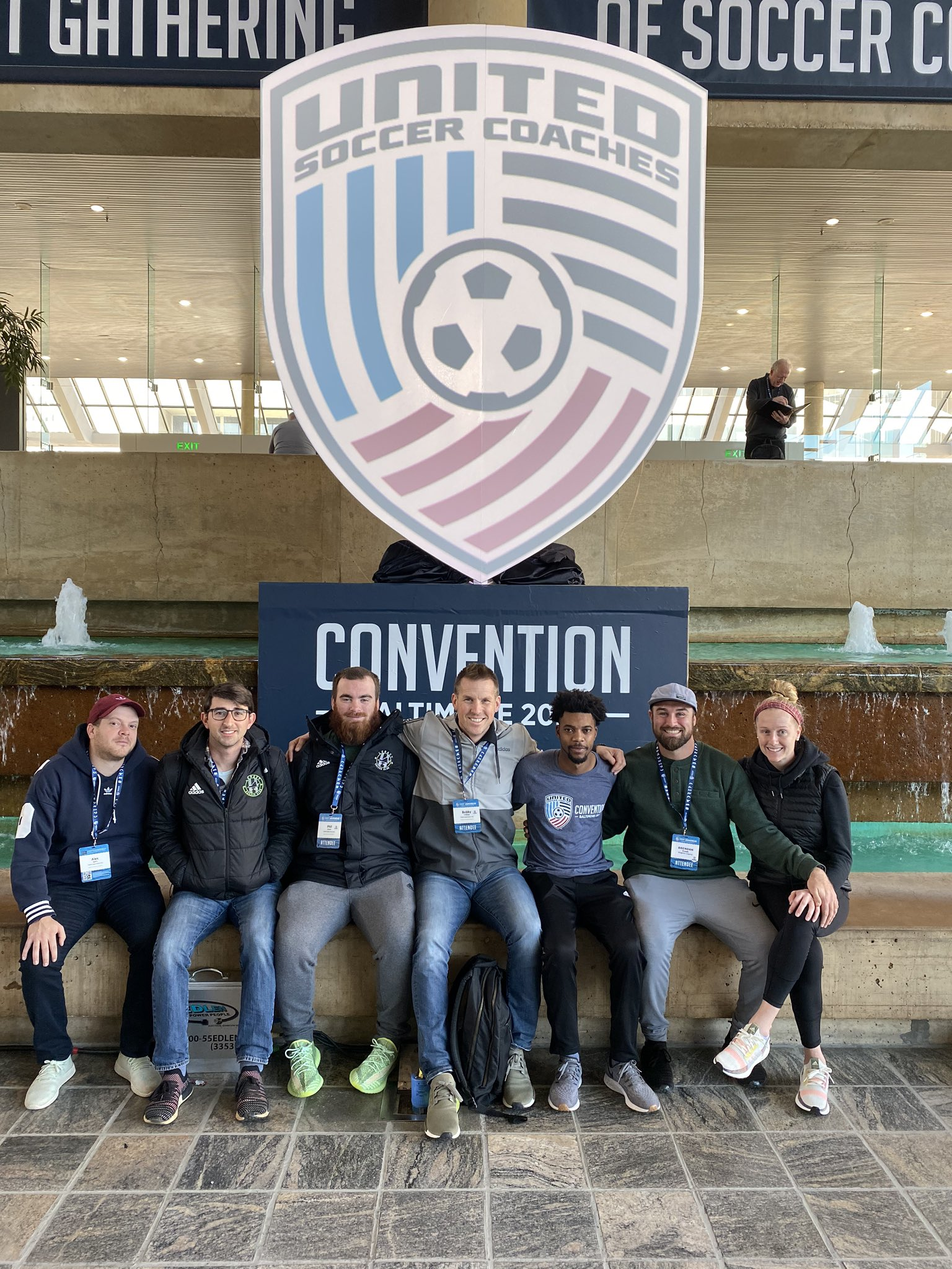 Legacy Staff Attends National Soccer Convention