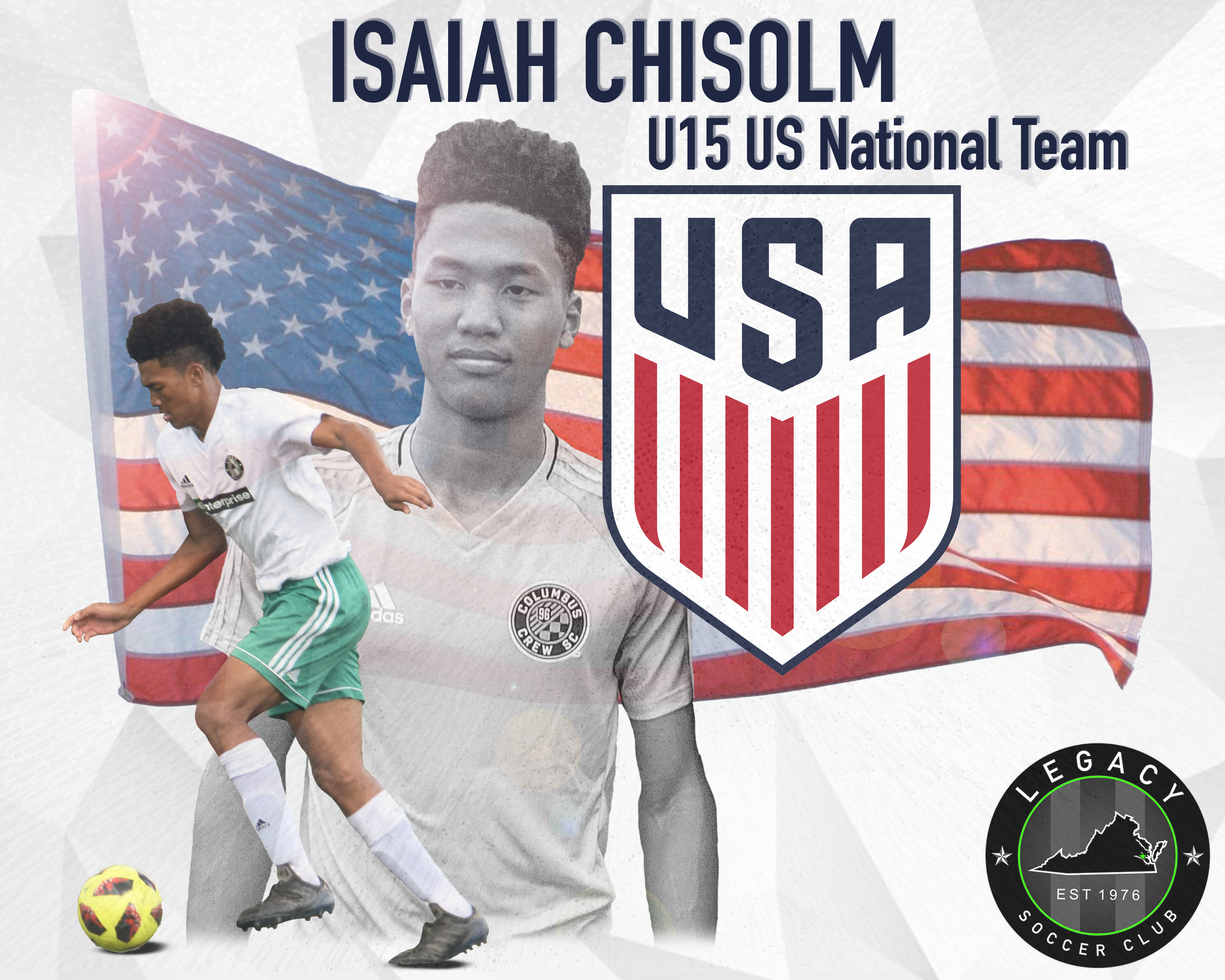 Isaiah Chisolm Selected to U15 Youth US National Team
